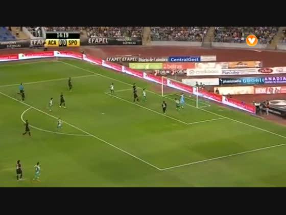 01J :: Académica - 1 x Sporting - 1 de 2014/2015
