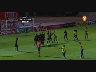 União Madeira 3-1 Académica - Golo de Élio Martins (42min)