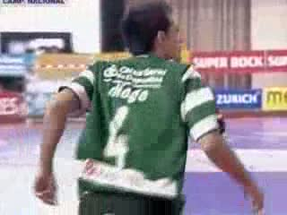 Futsal :: 24J :: Sporting - 5 x Belenenses - 3 de 2009/2010