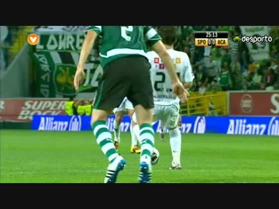 26J :: Sporting - 2 x Académica - 0 de 2010/2011