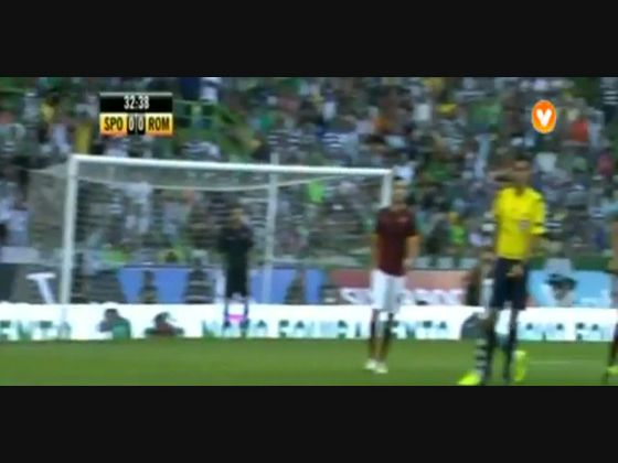 Sporting - 2 x Roma - 0 de 2015/2016 Trofeu Cinco Violinos