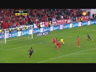 Gil Vicente 0-5 Benfica - Golo de M. Pereira (69min)