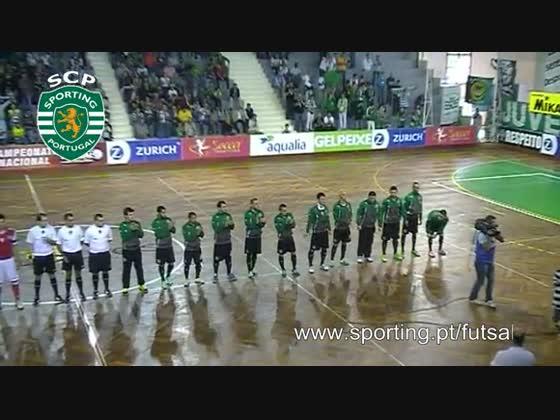 Futsal :: 07j :: SPORTING - 3 x Braga - 1 de 2013/2014