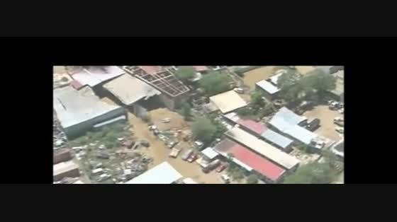 Vista aérea - Chuva em Benguela