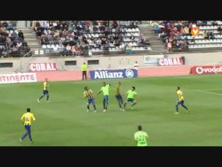 União Madeira 2-2 Vitória Setúbal - Golo de Vasco Costa (90+3min)