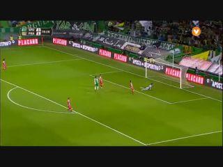 Sporting CP 5-1 Praiense - Golo de André (79min)
