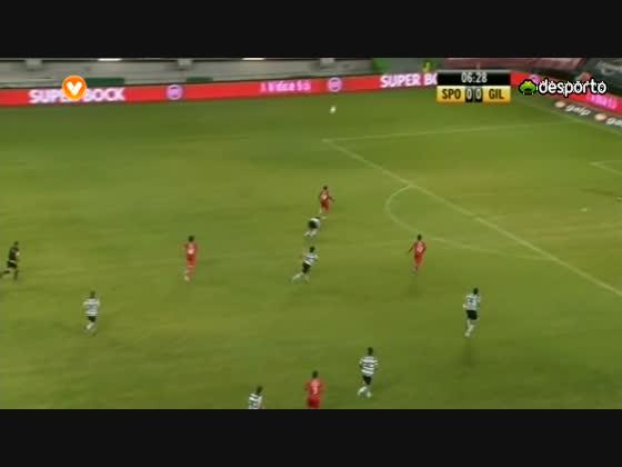 04J :: Sporting - 2 x Gil Vicente - 1 de 2012/2013