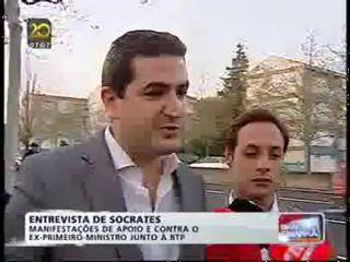 JSD entrega fatura a Sócrates - TVI