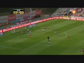 Sporting Braga 4-0 Penafiel - Golo de F. Pardo (50min)