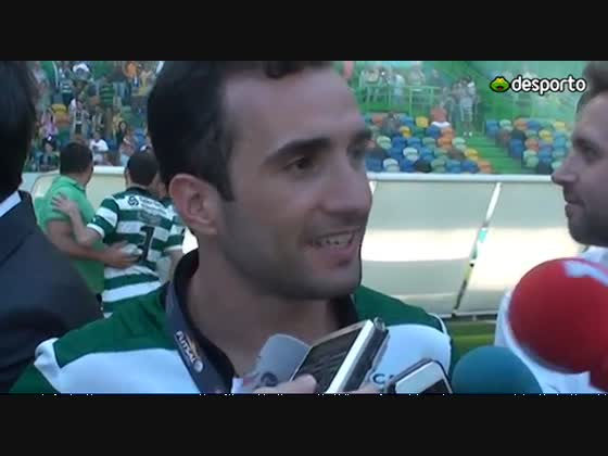 Futsal | Jogadores de futsal destacam justiça na conquista do título - 2012/2013