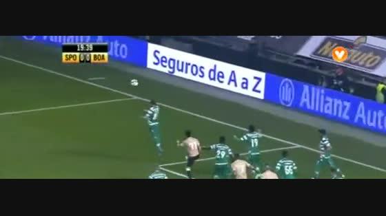 02J :: Sporting - 1 x Boavista - 0 de 2014/2015 taça da Liga - Grupo C
