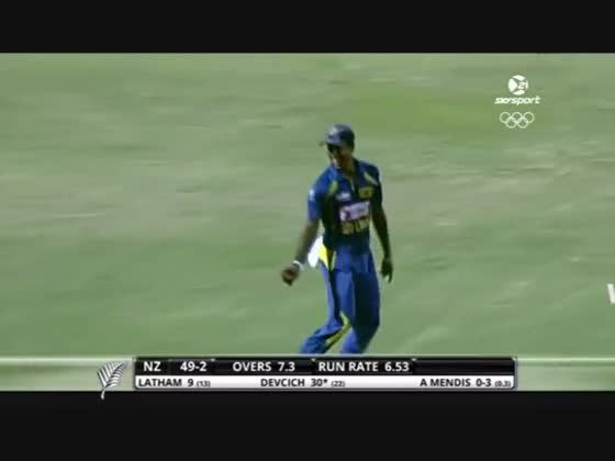 23rd Match ICC Twenty20 WC 2009: New Zealand v Sri Lanka - Highlights