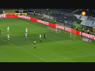 Vitória Guimarães 2-3 Arouca - Golo de Roberto (33min)