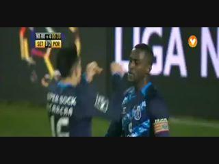 Vitória Setúbal 0-2 Porto - Golo de J. Martínez (90+1min)