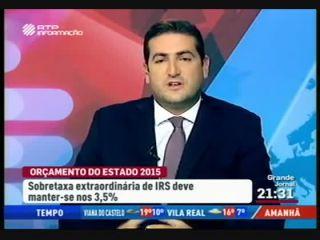 Hugo Soares em debate sobre o Orçamento de Estado 2015