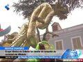 Grupo Vindos de Oriente faz desfile de campeão de carnaval em Mindelo