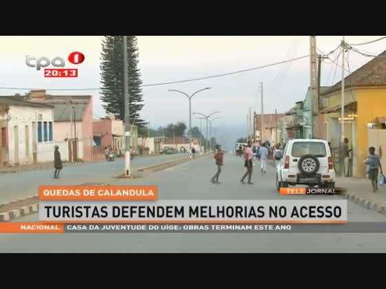 QUEDAS DE CALANDULA - Turistas defendem melhorias nas vias de acesso