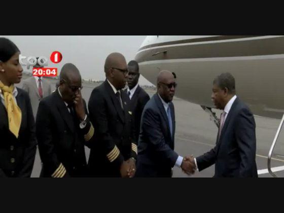Presidente da República já em Luanda