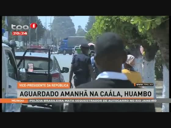 Vice-Presidente da República visita Huambo